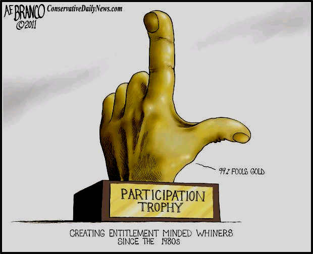 The+Damage+of+Participation+Trophies