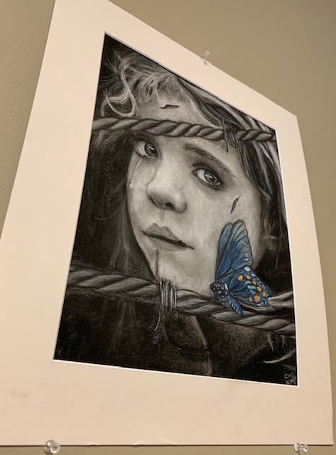 Winner+of+1st+place+in+the+artwork+category+from+John+Glenn+High+School.