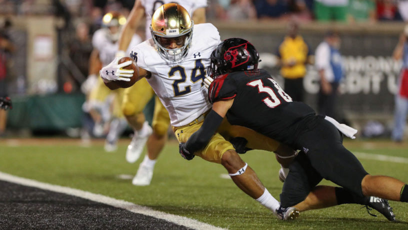 Notre Dame Struggled in Opener, but is There Hope?