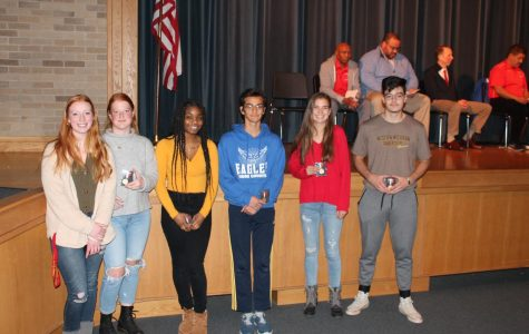 Athletes Recognized at 2019 Fall Sports Banquet