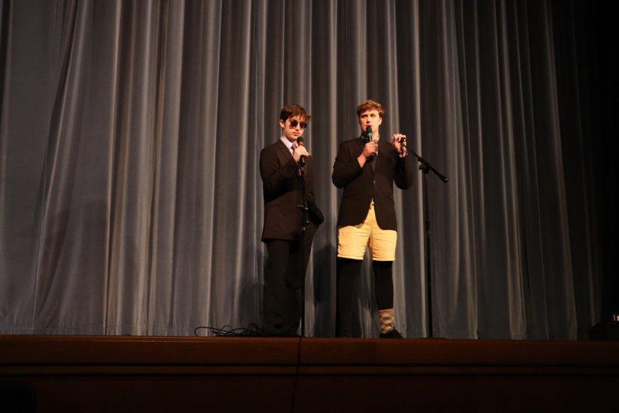 Co-hosts Sam Stanton and Jonathon Zapf