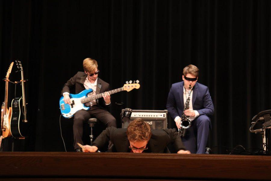 Max, The Sax, and Cameron Dobbins
