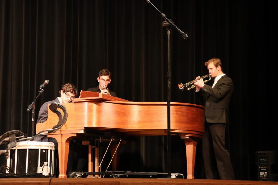 The Horses in the Back (Roy Bualuan on piano with Jonah Gezelter and Mitchell Caponigro on trumpet)