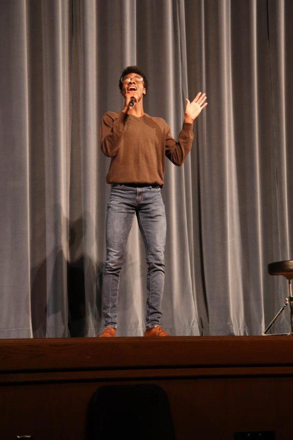 The audience chosen winner, David Smith.