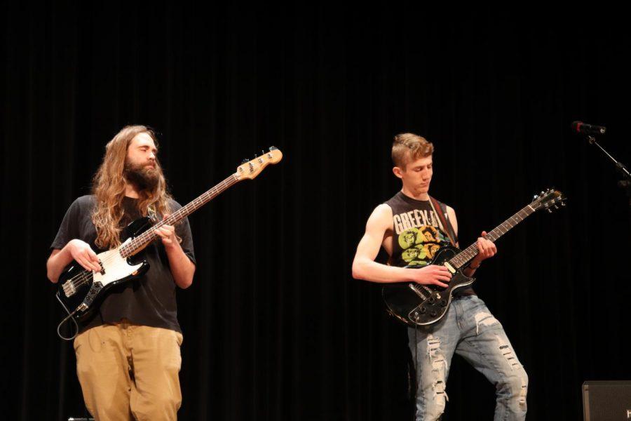 Mr. Ufkin and Ryan Downey