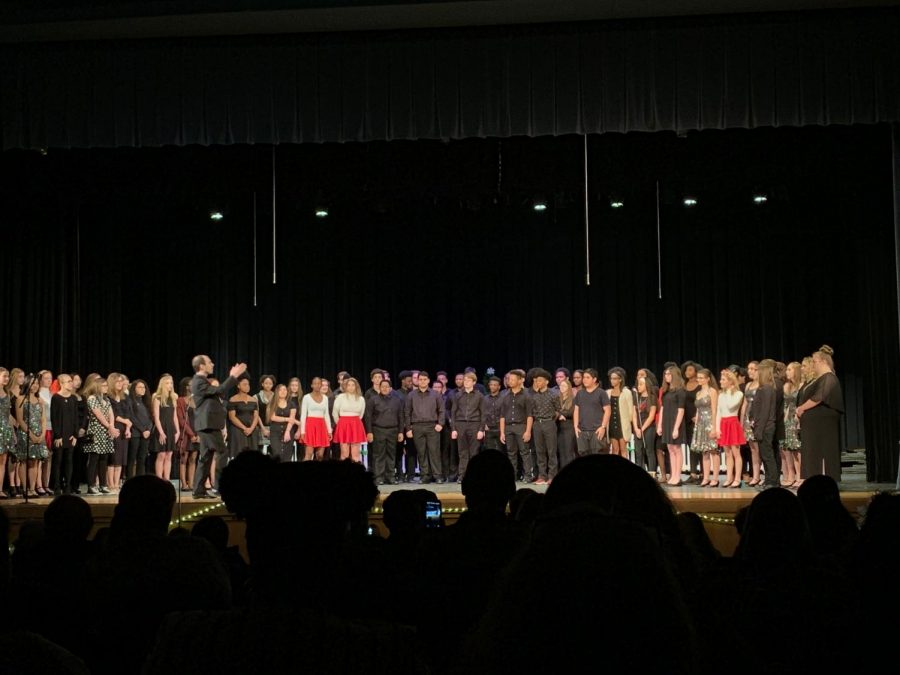 Adams Students Shine at Winter Concert 2019