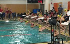 Lady Eagles vs. The Riley Wildcats Swim Meet
