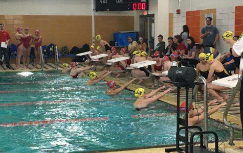 Lady Eagles vs. The Riley Wildcats Swim Meet
