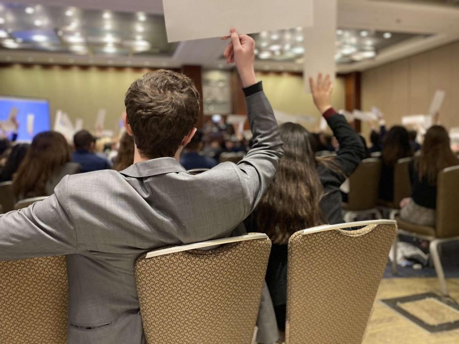 JA Students Travel to MUNUC 2020
