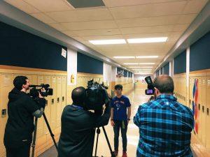 John Adams Junior Wins Student Film Contest