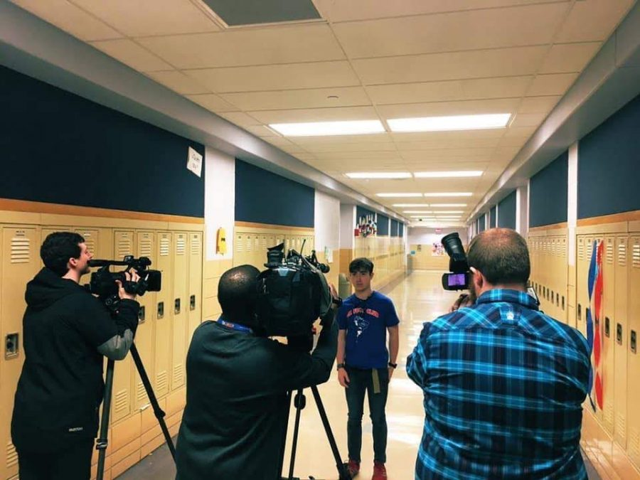 John Adams Junior Wins Student Film Contest