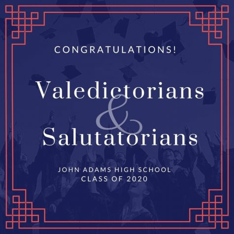 Class of 2020 Valedictorians and Salutatorians