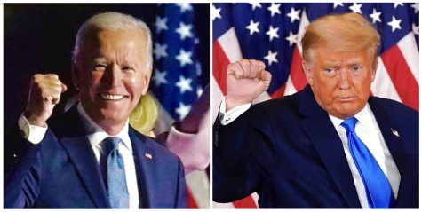 Former Vice President Joe Biden (Left) and Presidential Incumbent Donald Trump (Right)