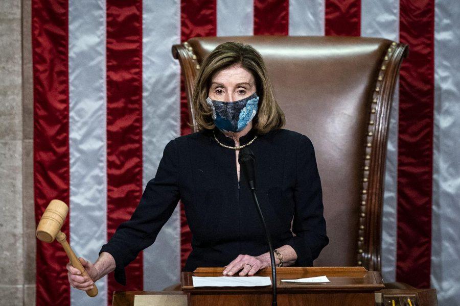 Speaker+of+the+House%2C+Nancy+Pelosi+in+Washington%2C+DC%2C+on+January+13