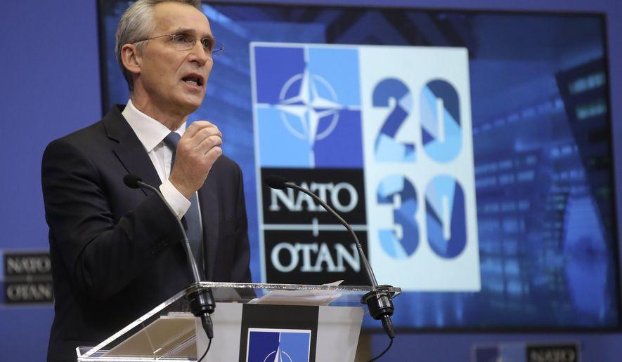 NATO+Secretary+General+Jens+Stoltenberg